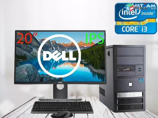 "Core i3 2120 Hamakargich + 20""DELL IPS LED HDMI MONITOR + key Mouse + 1 tari era"