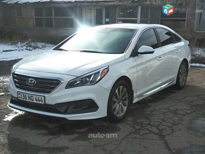 Hyundai Sonata Sport, 2016թ.