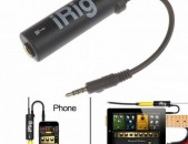 Irig i-rig. original. record mp3 & video sound to android & ios