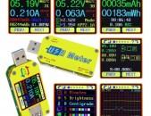 RD UM34C Для APP USB 3,0 Тип-C DC Вольтметр Tester Տեստեր