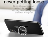 Baseus metal finger ring holder for iPhone Samsung mobile phone ring 360 degree