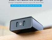 UGREEN Quick Charge 3.0 USB Wall Charger 36W Dual Port Qualcomm Fast Charger