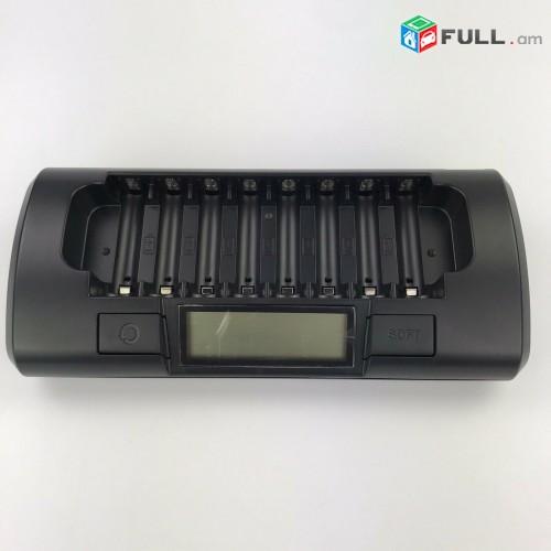 Powerex MH-C801D 8 Pro Rechargeable AA NiMH Batteries (zaryadshnik AA-AAA)
