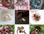 Չկրկնվող զարդեր, բրոշներ, կրծքազարդ բրոշ brosh broshner