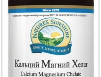 Кальций Магний Хелат (Calcium Magnesium Chelate), 150 таблеток (NSP)