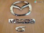 Mazda 6 znak emblem