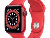 Apple Watch 6 44mm nor pak tupov Red