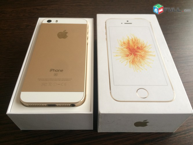 iPhone Se 32Gb, Gold, Իդիալական Վիճակ