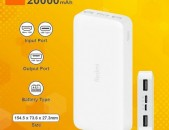 Xiaomi Redmi Power Bank 20.000mAh ԱՆՎՃԱՐ ԱՌԱՔՈՒՄ
