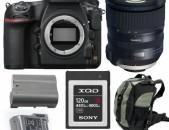 ՎԱՐՁՈՎ / RENT - Nikon D850 camera + Tamron 24-70mm f2.8 G2