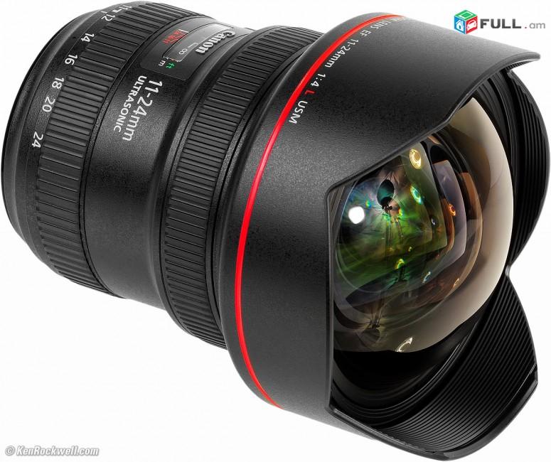 Canon 11-24mm f4.0 L Lens / օբյեկտիվ