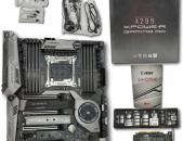 MSI X299 XPOWER GAMING AC EATX LGA2066 Motherboard DDR4 M.2 (օգտագործած)