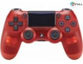Ps4 joystick Controller Dualshock 4  Կարմիր թափանցիկ
