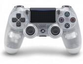 Ps4 joystick Controller Dualshock 4  Սպիտակ  թափանցիկ