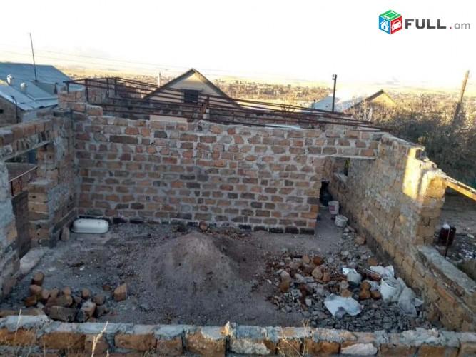 Շատ շտապ վաճառվում է երկհարկանի կիսակառույց շինություն իր հողամասով՝ Համայնք Ջրվեժ գյուղ Ձորաղբյուր 2 - րդ զանգված
