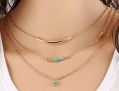 Gexecik chgunatapvox vznocner. Красивая Ожерелья. Women necklace and pendant