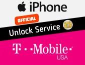 Tmobile Unlock apakodavorum iPhone + blecklist koderi bacum