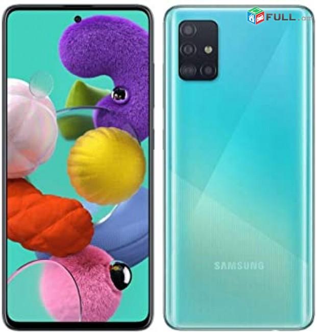 Samsung  A51 4gb/64gb+նվեր ապակի