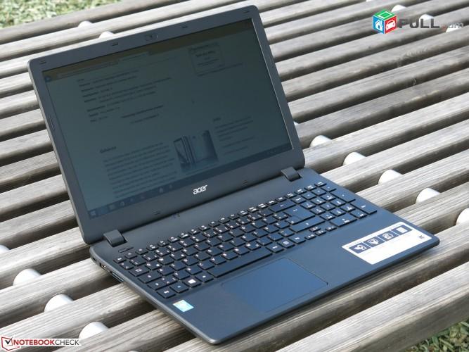Acer es1-512  Հզոր անթերի նոթբուկ Intel 3560U / 4GBRam / 120GB SSD + 500G