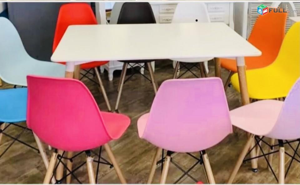 Աթոռ պլաստմասե խոհանոցային # Xohanocayin Ator # անվճար առաքում # աթոռ հենակով # գունավոր աթոռ