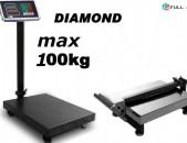 Կշեռք max 100կգ / Весы: Անվճար առաքում: Ksherq
