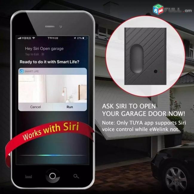Garage door opener wifi Tuya, հեռախոսով դուռը բացող սարք