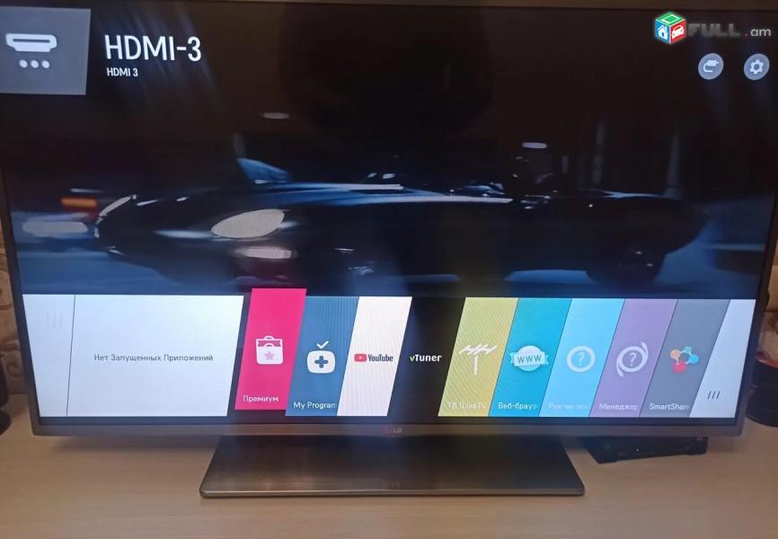 """LG smart TV, 42"""", 3D, 4K ultra hd, herustacuyc, televizr"""