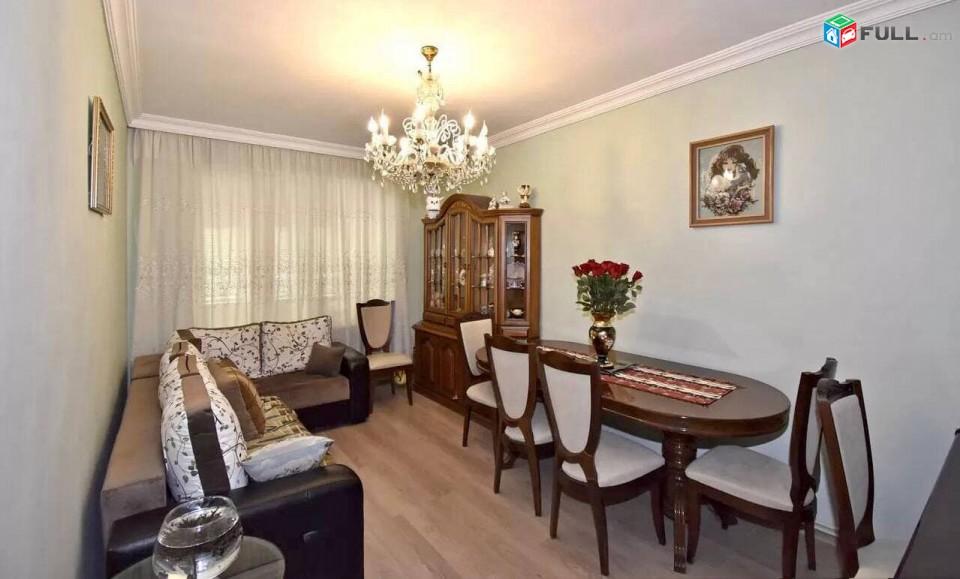 ՄԳ443Վաճառվում է 3 սենյականոց  բնակարան՝ 69քմ մակերեսով, 5 հարկանի  շենքի 4-րդ հարկում: