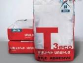 Շինանյութ, Shen T3 Eco սալիկի սոսինձ, ԱԱՀ-ով Ֆակտուրայով + առաքում, saliki sosinz