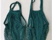 Eco bag, գործված առևտրի ցանց, ցանց պայուսակ