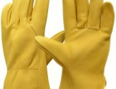 Աշխատանքային կաշվե ձեռնոցներ