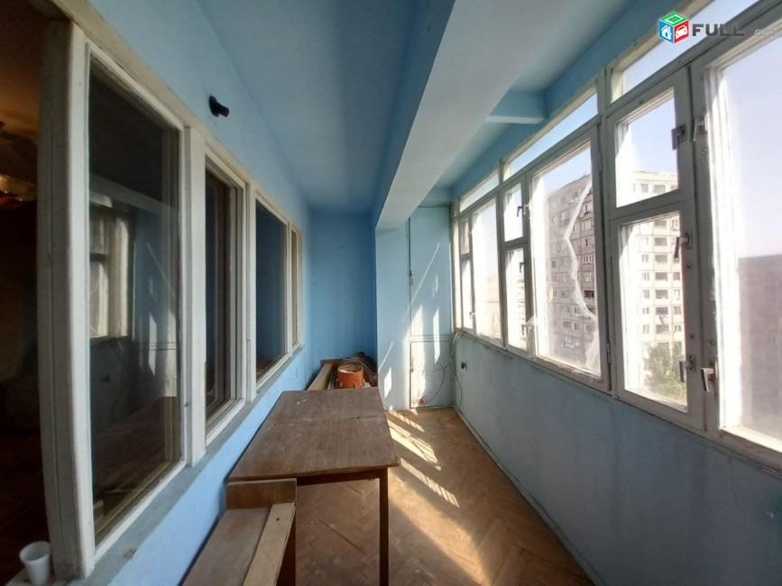 ASH359????Վաճառվում է 3 սենյականոց  բնակարան՝ 73,4քմ մակերեսով, 9 հարկանի  շենքի 7-րդ հարկում