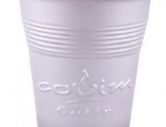 Պլաստիկ բաժակ Սուրճի ավտոմատների համար PACCOR Արծաթագույն
