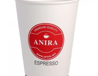 Բաժակ թղթե Սուրճի ավտոմատների համար Anira Espresso 0,20լ