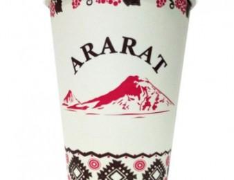 Թղթե բաժակ Արարատ / txte bajak Ararat / 0.35l