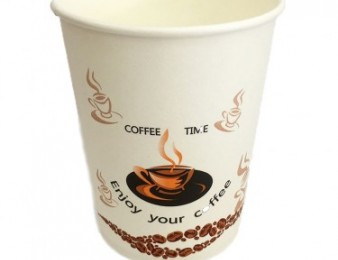 Բաժակ թղթե Coffee Time 0.18l