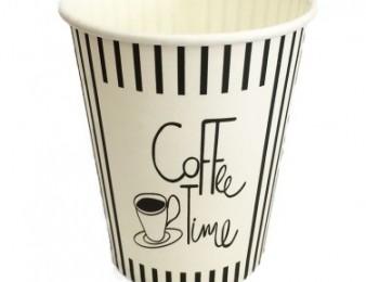 Բաժակ թղթե Coffee Time