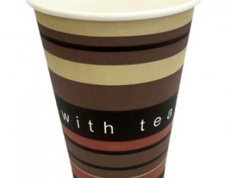 Բաժակ թղթե - With Tea 0.2l