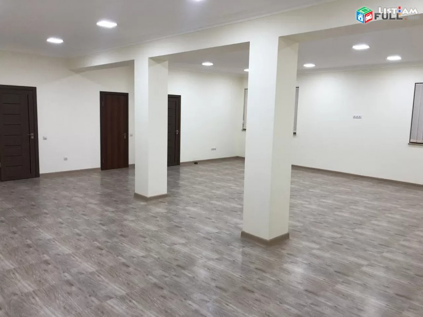 Կոդ 0520  Գրասենյակային տարածք Նաիրի Զարյան փողոցում Արաբկիրում, 200 ք.մ.