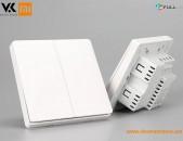 Aqara Smart Switch Double Button With Zero Line