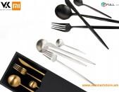 Xiaomi Maision Maxx Stainless Steel Tableware Set Набор столовых приборов Գդալների հավաքածու