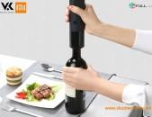 Xiaomi Huo Hou Electric Bottle Opener Wine Электрический штопор Էլեկտրական խցանահան