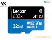 Lexar Micro SD 32 GB Карта памяти Հիշողության քարտ