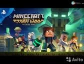 Ps4 Օրիգինալ Խեղեր երաշխիքով Playstation4 Ps3 Minecraft Story Mode