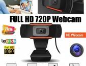 Full HD 720P Web camera  Win 10 8 7 XP Built-in Mic տեսախցիկ վեբ camera Autofocus
