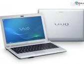 """Նեթբուք / Netbook Sony Y VPC-YB3Q1R, 11.6"""", AMD E-450, 4 Gb DDR3 Ram, 120 Gb SSD - ԱՌԿԱ"""