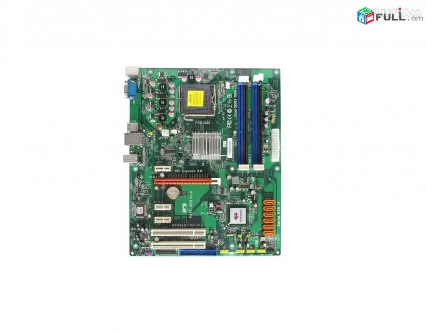 Մայրպլատա / Motherboard Elitegroup P43T-AD3 v1.0 - ԱՌԿԱ