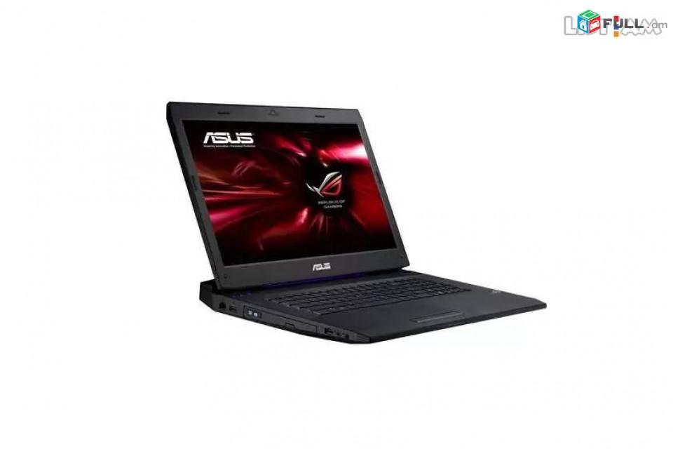 """Նոութբուք / Notebook Asus ROG G73SW, 17.3"""", Intel Core i7, 16 Gb RAM, SSD 250 Gb, GeForce 460M"""