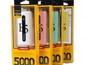 Power bank proda e5 5000 mah