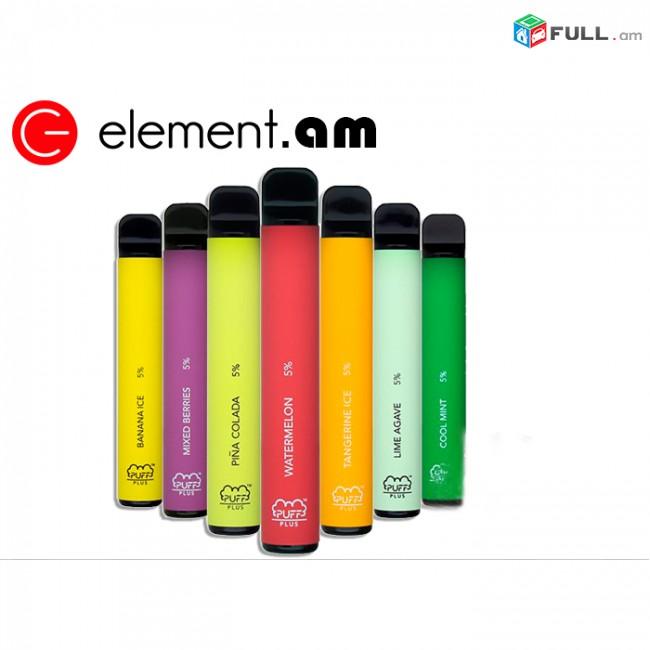 Էլեկտրոնային սիգարետ PUFF PLUS (800 Ծուխ)/ puffplus vape elektronayin sigaret 4+1 նվեր
